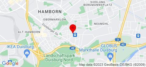 Google Map für Monteurzimmer domum Group