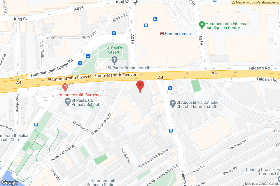 45 Queen Caroline St, London, W6 9QH map