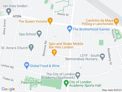 Map of Strathnairn Street