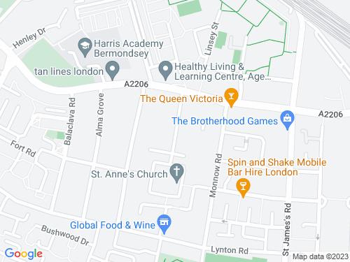 Map of Longley Street