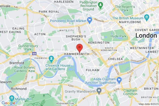 Novotel London West Map