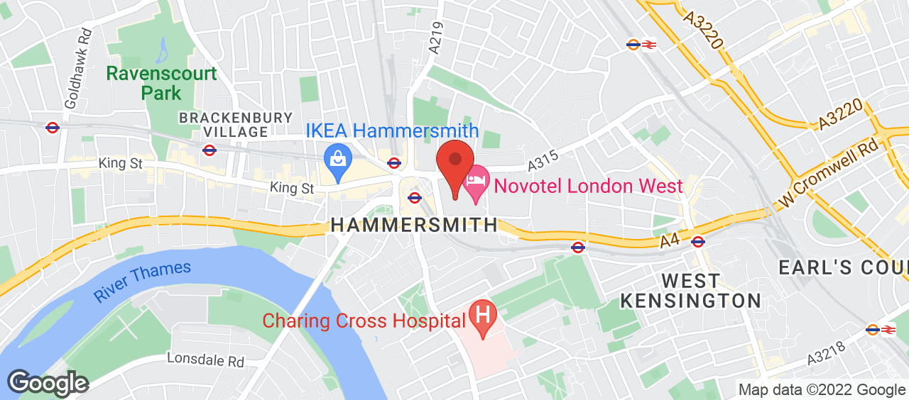 Hammersmith Fitness and Squash Centre location and directions