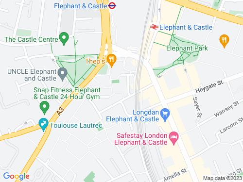 Map of Wollaston Close