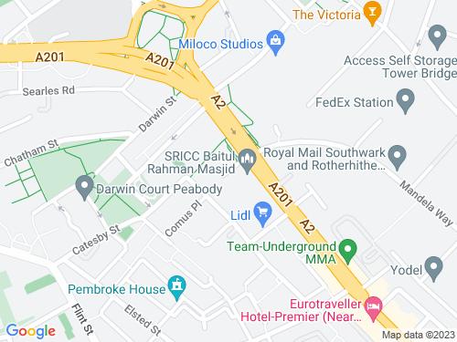 Map of Preston Close