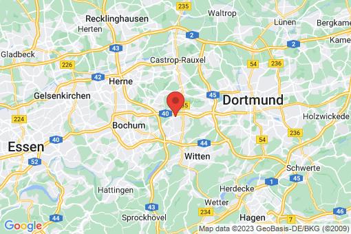 Karte Bochum