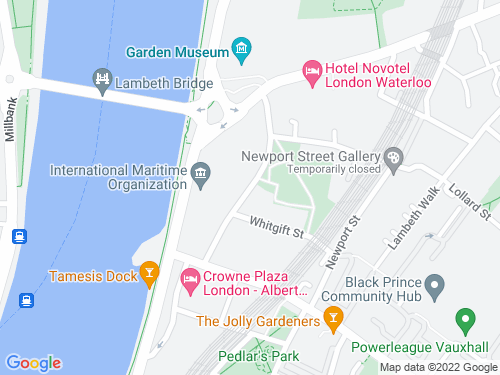Map of Lambeth High Street