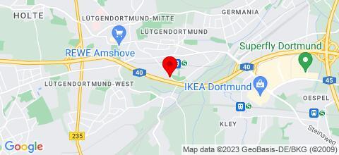 Google Map für Monteurzimmer & Ferienwohnung LÜDO
