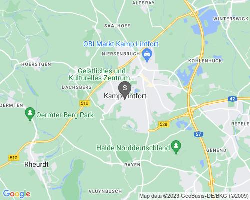 Google Karte von Schlüsseldienst Kamp-Lintfort