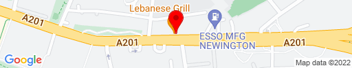 Map of Lebanese Grill