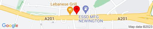 Map of Cafe Bosko