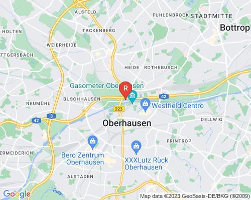 Google Karte von Rohrreinigung Oberhausen