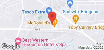 Halfords Bridgend location