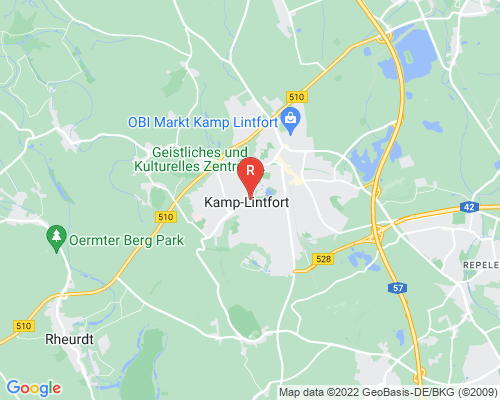 Google Karte von Rohrreinigung Kamp-Lintfort