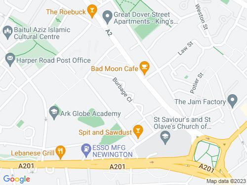 Map of Burbage Close