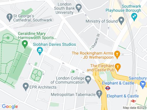 Map of Gaywood Street