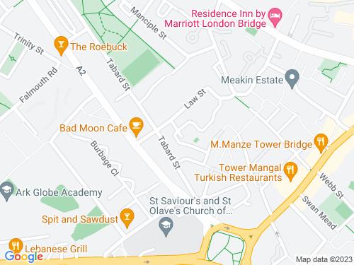 Map of Lansdowne Place
