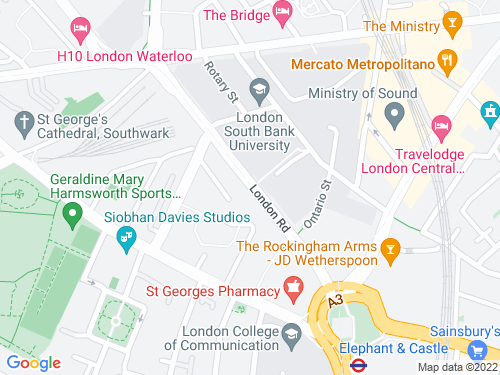 Map of London Road