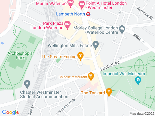 Map of Cosser Street