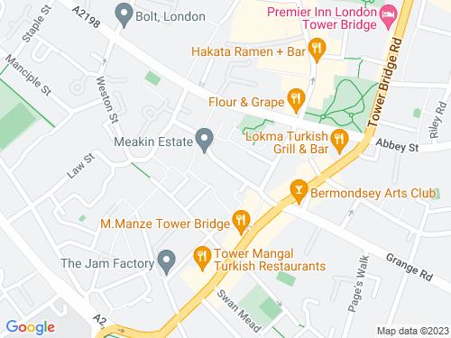 Map of Decima Street