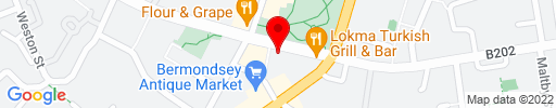 Map of Kino Bermondsey