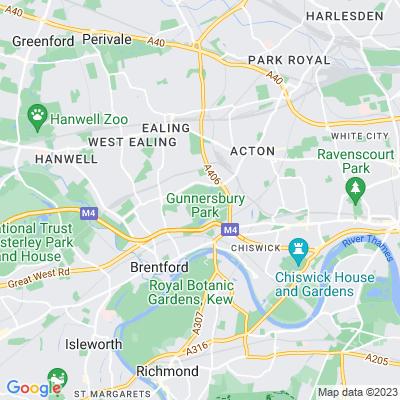 Gunnersbury Park Location
