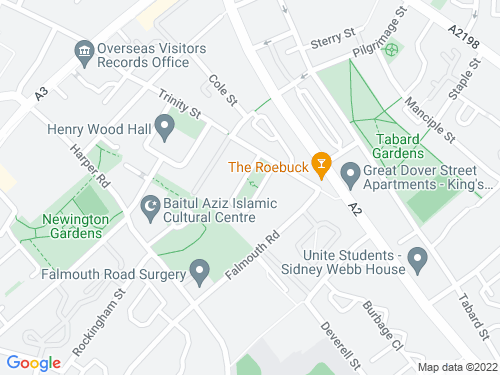 Map of Merrick Square