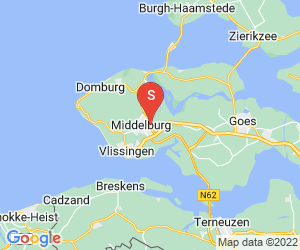 Karte für Indoor Karting Middelburg