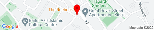 Map of The Roebuck