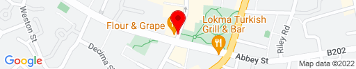 Map of Flour & Grape