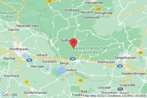 Karte Breitungen