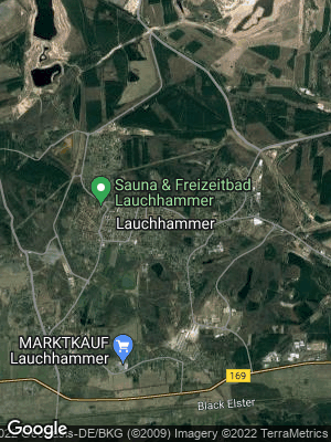 Google Map of Lauchhammer