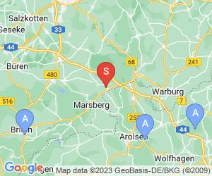 Karte für TuS Westheim Golfclub
