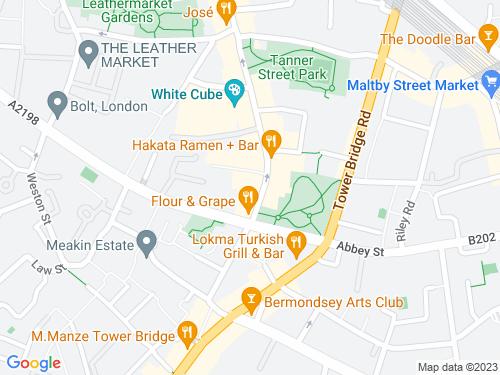 Map of Market Yard Mews
