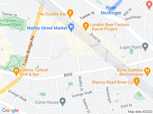 Map of Maltby Street