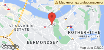 Map of Renes (Surrey Quays) at 222 Jamaica Road, London, Inner London SE16 4BD