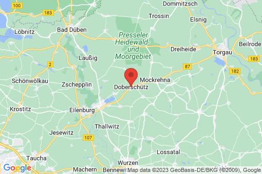 Karte Doberschütz