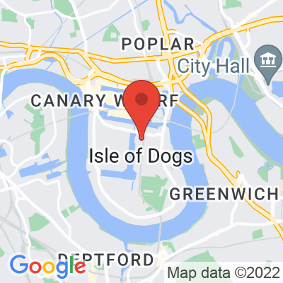 Map showing Attendant South Quay