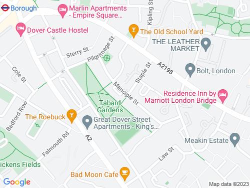 Map of Manciple Street