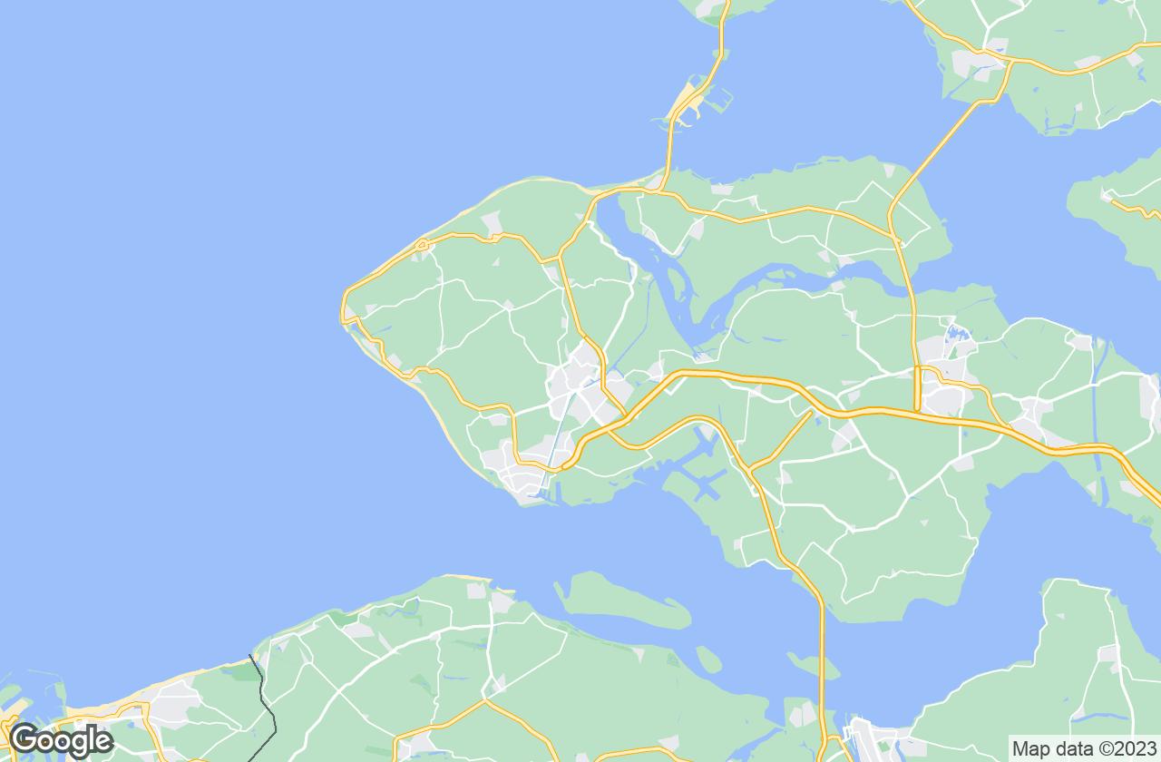 Google Map of Middelburg