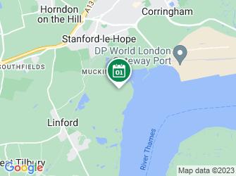 A static map of Thameside Dens & Fires