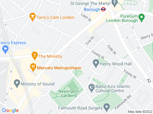 Map of Trio Place