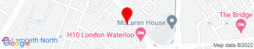 Map of Waterloo Sky Bar