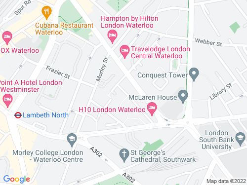 Map of Dodson Street