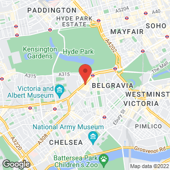 Map of Michael Kors at 87-135 Brompton Road, London, LND SW1X 7XL