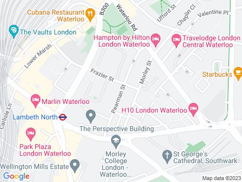 Map of Pearman Street