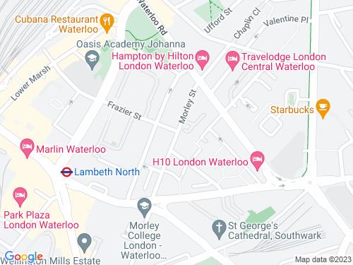 Map of Morley Street