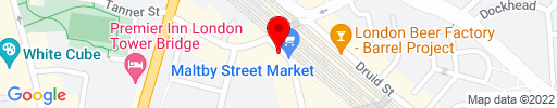 Map of 40 Maltby Street