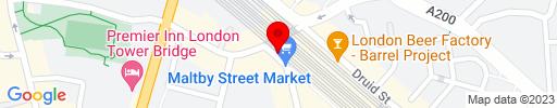 Map of Dandy Restaurant