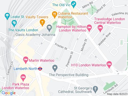Map of Frazier Street