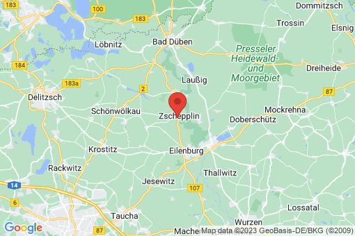 Karte Zschepplin